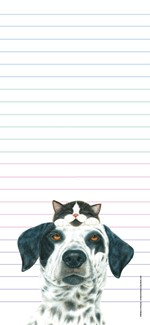 Buddies | Pet lover list pad