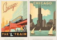 Chicago L-Train & Windy City