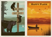 Bears Signpost & Happy Place