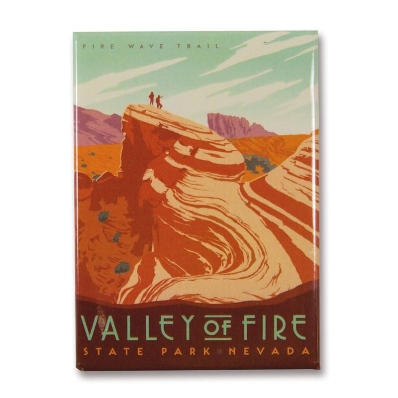 nv valley of fire state park magnet metal magnet