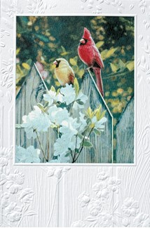 Lovers at the Inn | Cardinal greeting cards