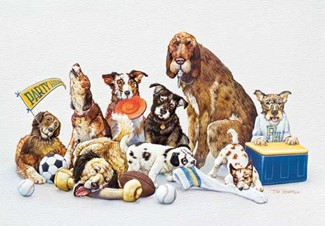 Party Hounds | Dog lover greeting cards