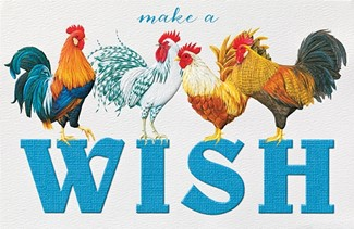 Rooster Row | Farm animal greeting cards