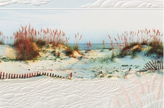 Sea Breeze | Embossed photographic greeting cards