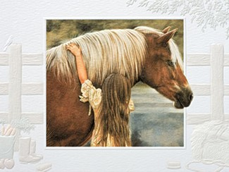 First Love | Horse inspirational cards