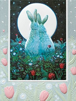 Bunny Love | Rabbit anniversary greeting cards