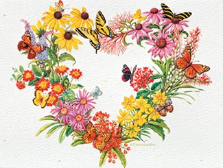 Heartfelt | Floral anniversary greeting cards