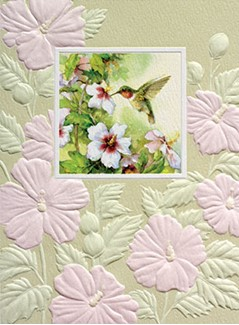 Hummingbird Hello | Inspirational note cards