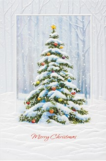 Celebration Tree | Christmas tree boxed greeting cards