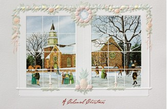Bruton Parish Church | Colonial Williamsburg Christmas cards