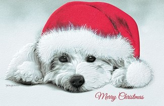 Puppy Love | Dog lover boxed Christmas cards
