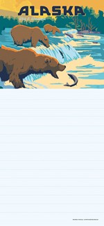 Alaska Fishing Bears | American made list pads