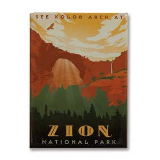 Zion Kolob Magnet| American Made Magnet