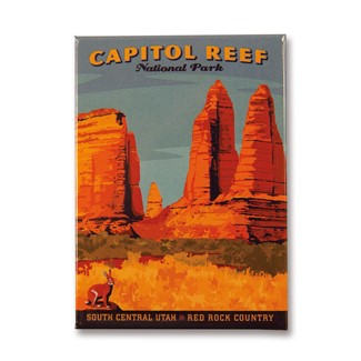 Capitol Reef Magnet | American made magnets