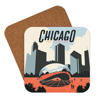 Chicago Millennium Park Coaster| Made in the USA