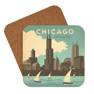 Chicago Windy City Coaster| Made in the USA