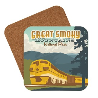 Great Smoky Train Coaster| Made in the USA