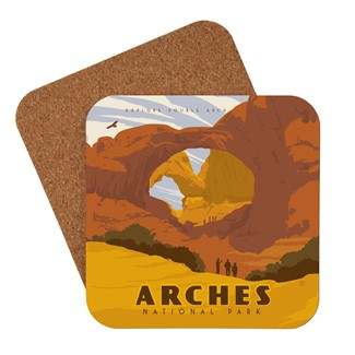Arches 2 Coaster | Made in the USA