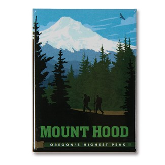 Mount Hood Magnet | Made in the USA