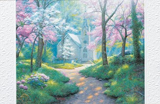 Spring Chapel | Sympathy greeting cards