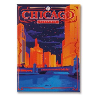 Celebrate Chicago Magnet | Made in the USA