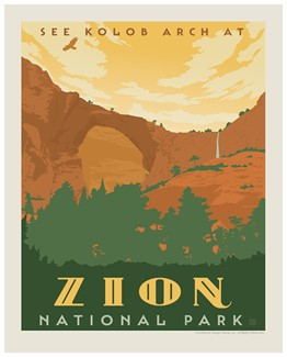 Zion Kolob Print | Made in the USA