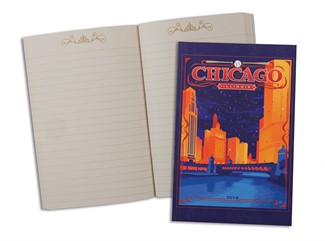 Celebrate Chicago | Cubs Themed Pocket Journal