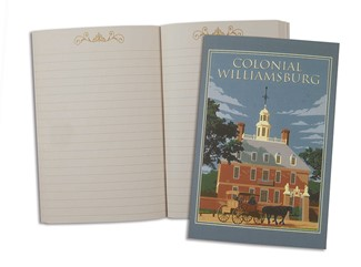 Colonial Williamsburg Governor's Palace | American Made Pocket Journal