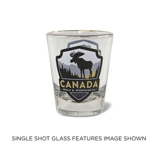 Canada Moose Shot Glass | Moose Shot Glass