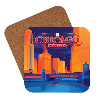 Celebrate Chicago | American Made Coaster