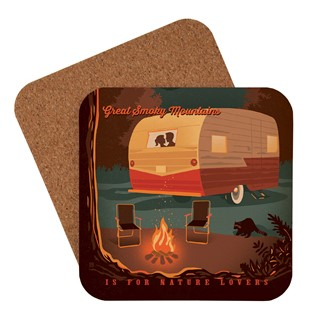 Great Smoky Camping | American Made Coaster