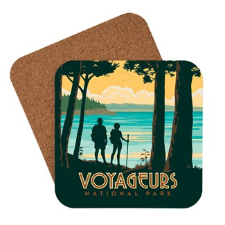 Voyageurs Hikers | American Made Coaster