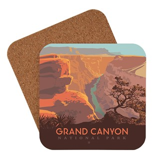 Grand Canyon River View | American Made Coaster