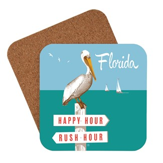FL Rush Hour / Happy Hour | American Made Coaster