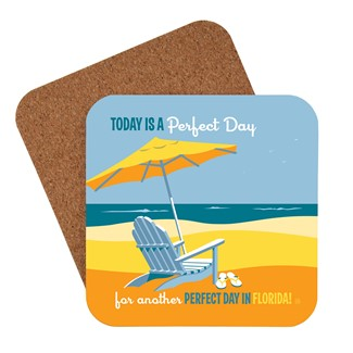 FL Another Perfect Day | American Made Coaster