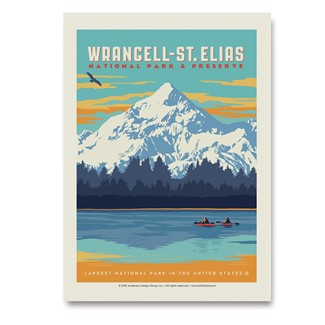 Wrangell-St Elias NP | Vertical Sticker