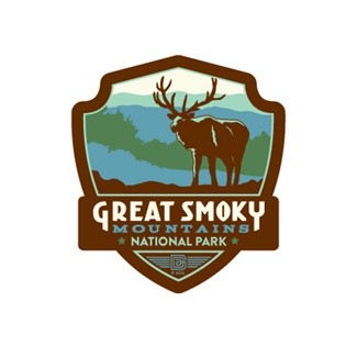 Great Smoky Elk | Emblem Sticker
