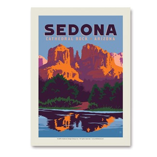 Sedona Cathedral Rock | Vertical Sticker