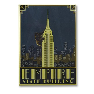 Empire State Building Magnet | Metal Magnet