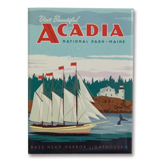 Acadia Magnet| American Made Magnet
