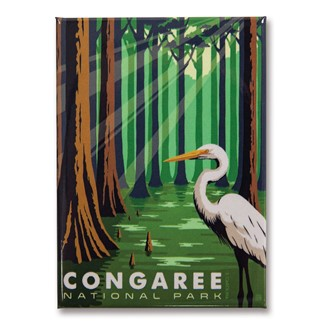 Congaree Metal Magnet| American Made Magnet