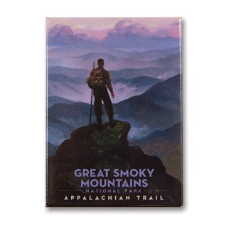 Great Smoky Appalachian Trails | Metal Magnet