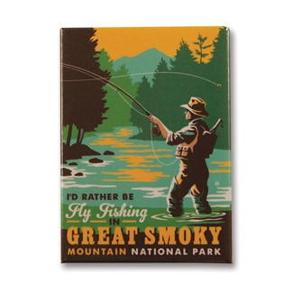 Great Smoky Fly Fishing | Metal Magnet