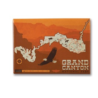 Grand Canyon Map | Made in the USA