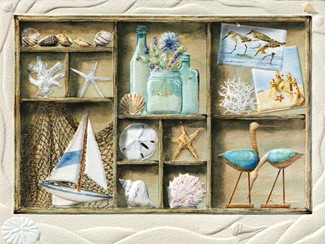 Beach Treasures | Friendship greeting cards