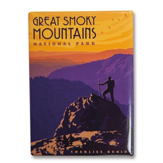 Great Smoky Charlies Bunion | Metal Magnets Made in the USA