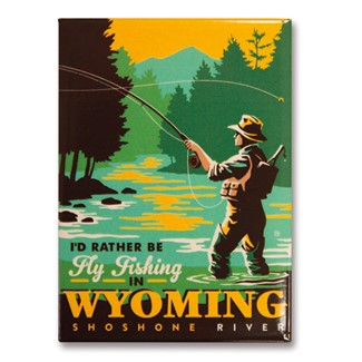 Wyoming Fly Fishing | Metal Magnets