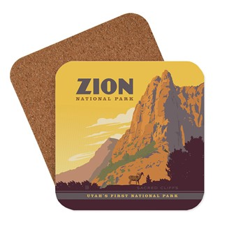 Zion Sacred Cliffs Coaster | American made coasters