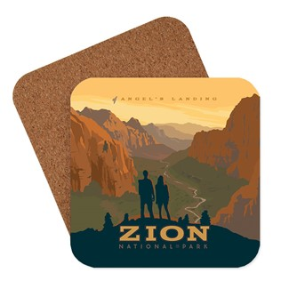Zion Angel's Landing Coaster | Made in the USA