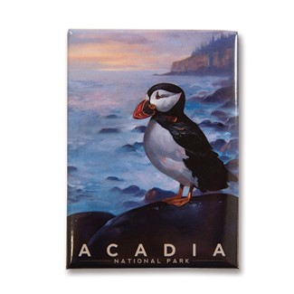 Acadia Puffin Magnet | Made in the USA